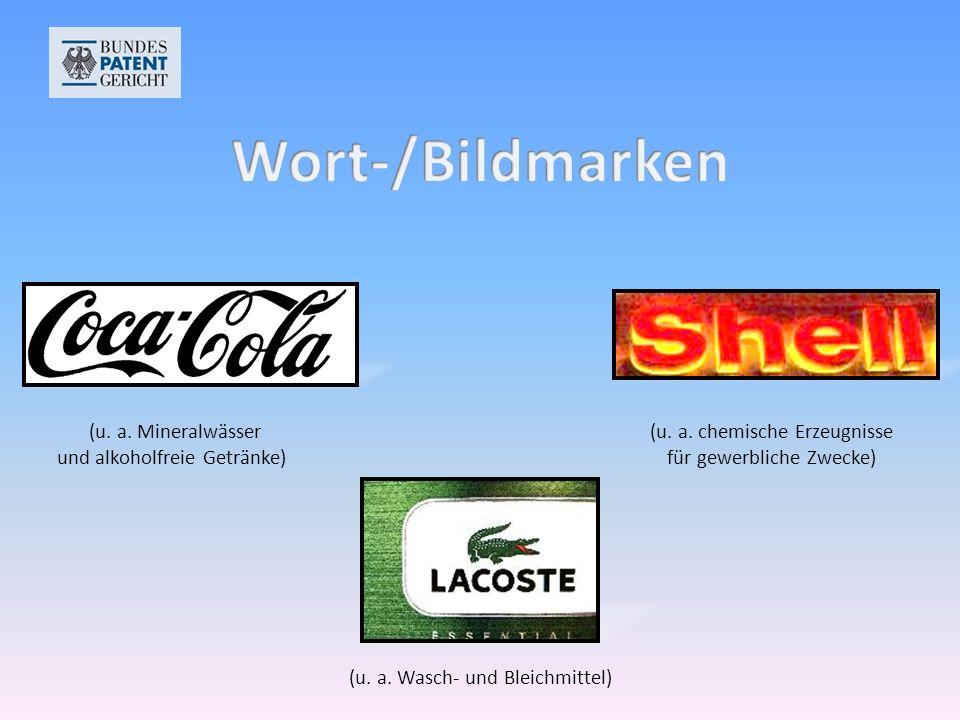 (u.a. Mineralwässer und alkoholfreie Getränke) (u.