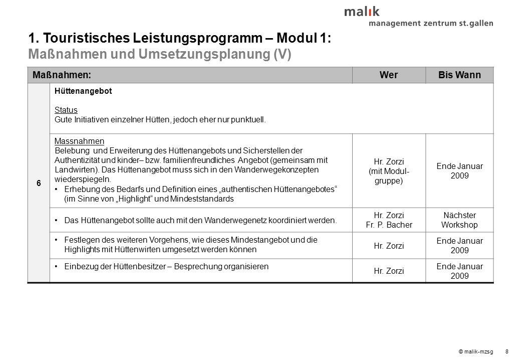 © malik-mzsg8 Maßnahmen:WerBis Wann 6 Hüttenangebot Status Gute Initiativen einzelner Hütten, jedoch eher nur punktuell.