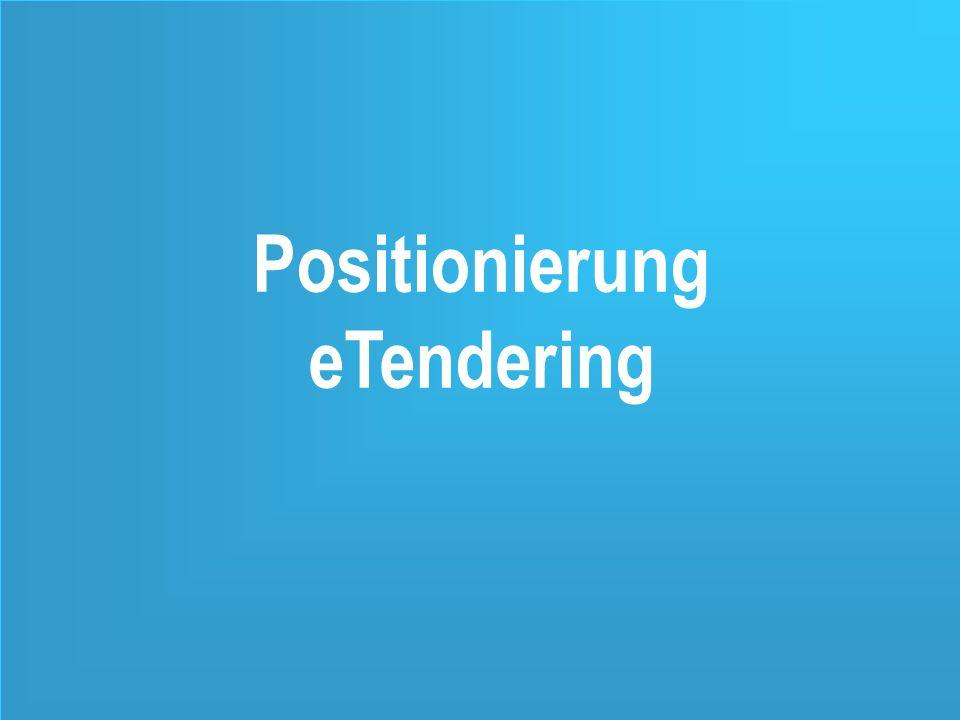 9 Positionierung eTendering
