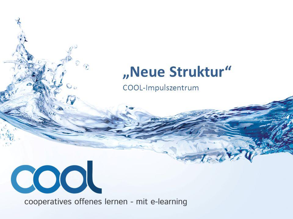 """""""Neue Struktur"""" COOL-Impulszentrum"""