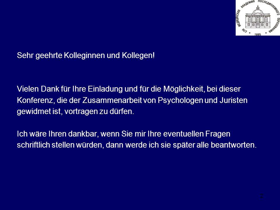 2 Sehr geehrte Kolleginnen und Kollegen.