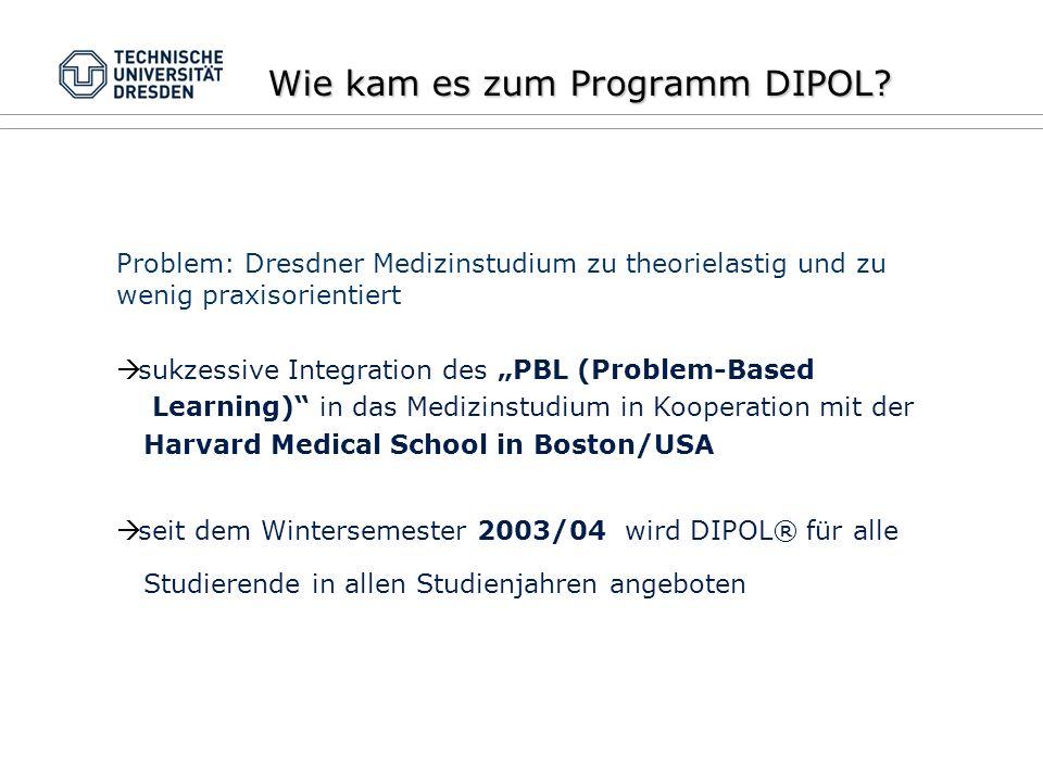 Wie kam es zum Programm DIPOL.