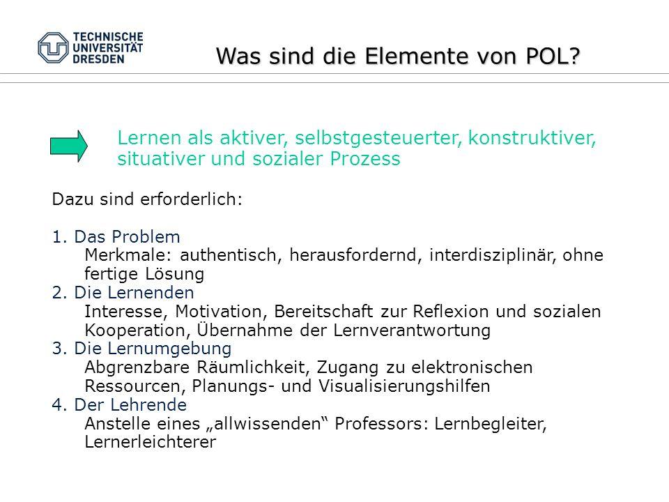 Was sind die Elemente von POL.