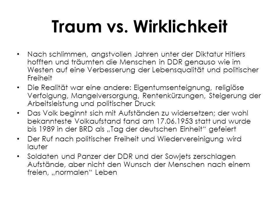 Traum vs.