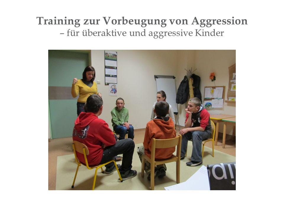 Training zur Vorbeugung von Aggression – für überaktive und aggressive Kinder
