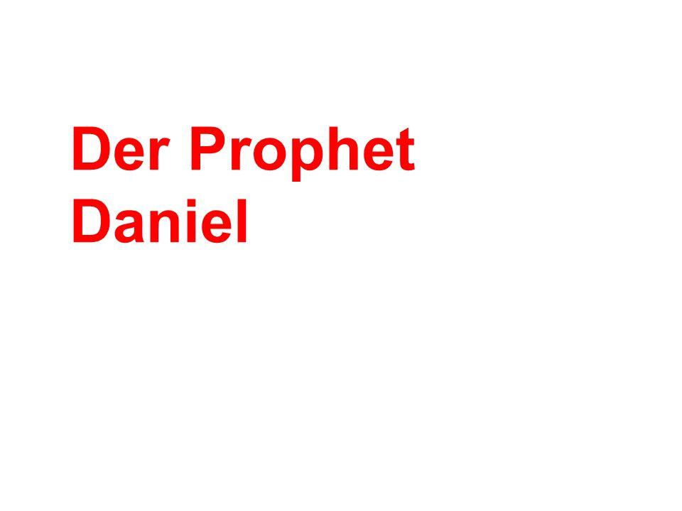 1: Babylon.Hof Daniel weigert sich zu essen. Nebukadnezar duldet die jüdische Gottesanbetung.
