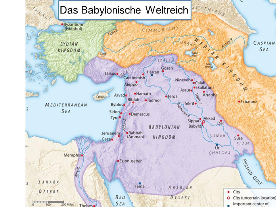 V.2: Chaldäer = ursprgl. die semitischen Südbabylonier, aus denen Nebukadnezars Familie stammte.