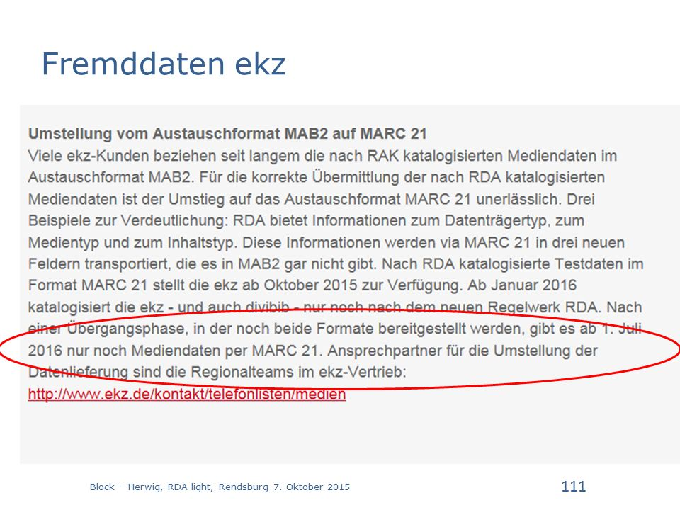 Fremddaten ekz Block – Herwig, RDA light, Rendsburg 7. Oktober 2015 111