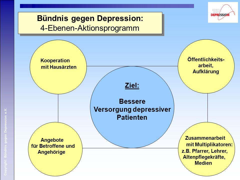 Copyright: Bündnis gegen Depression e.V.Literaturverzeichnis  Josuran, Ruedi u.a.