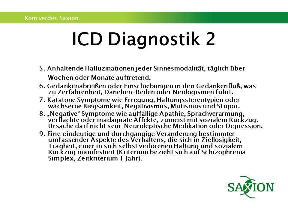 Kom verder. Saxion. ICD Diagnostik 2 5.