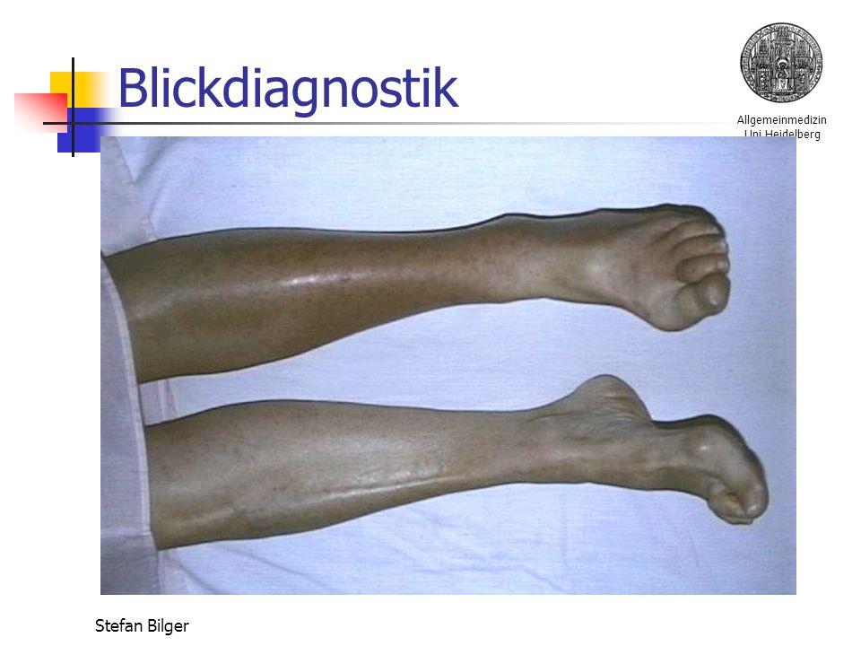 Allgemeinmedizin Uni Heidelberg Stefan Bilger Blickdiagnostik