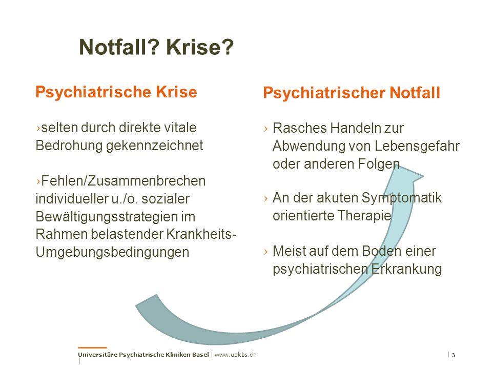 Notfall? Krise? Psychiatrischer Notfall › Rasches Handeln zur Abwendung von Lebensgefahr oder anderen Folgen › An der akuten Symptomatik orientierte T
