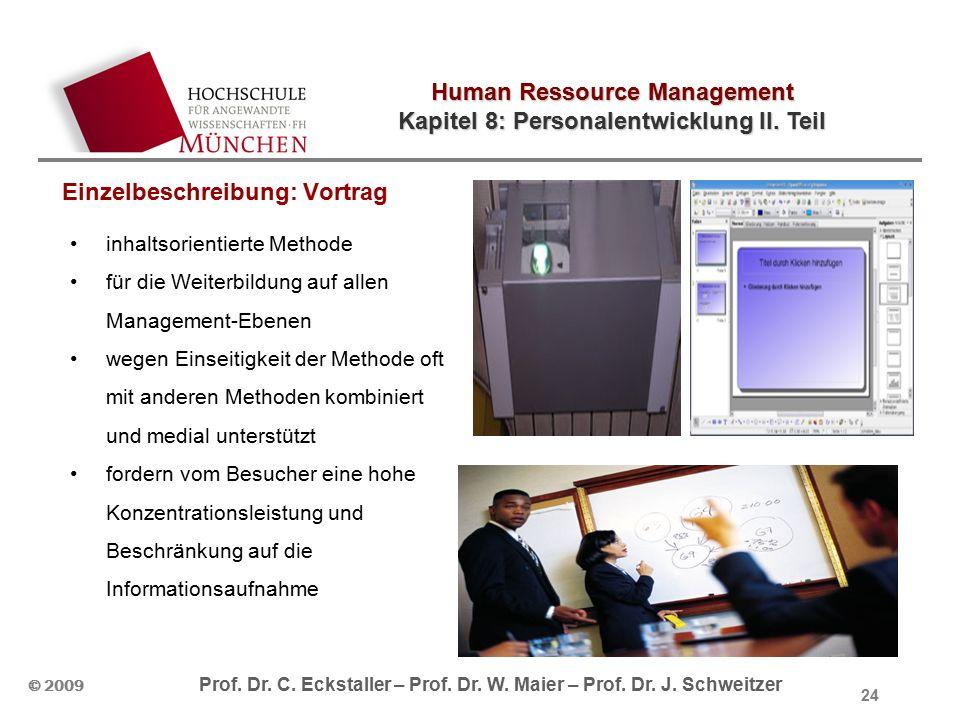 Human Ressource Management Kapitel 8: Personalentwicklung II.