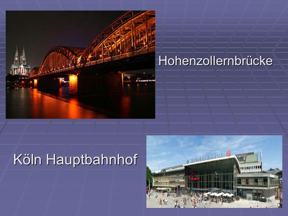 Hohenzollernbrücke Köln Hauptbahnhof