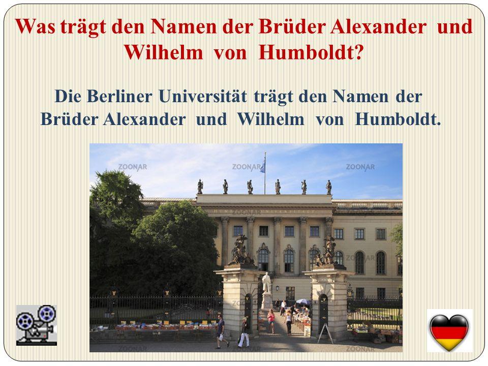 Wem zu Ehren hat der Alexanderplatz seinen Namen bekommen.