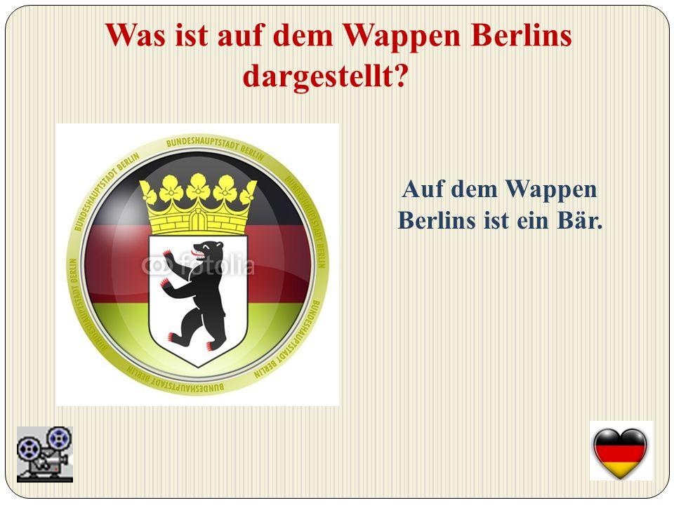 An welchem Fluß liegt Berlin Berlin liegt an der Spree.