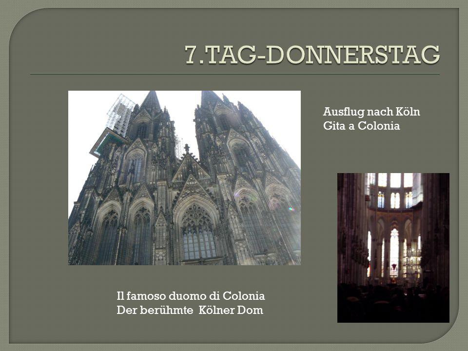 Ausflug nach Köln Gita a Colonia Il famoso duomo di Colonia Der berühmte Kölner Dom