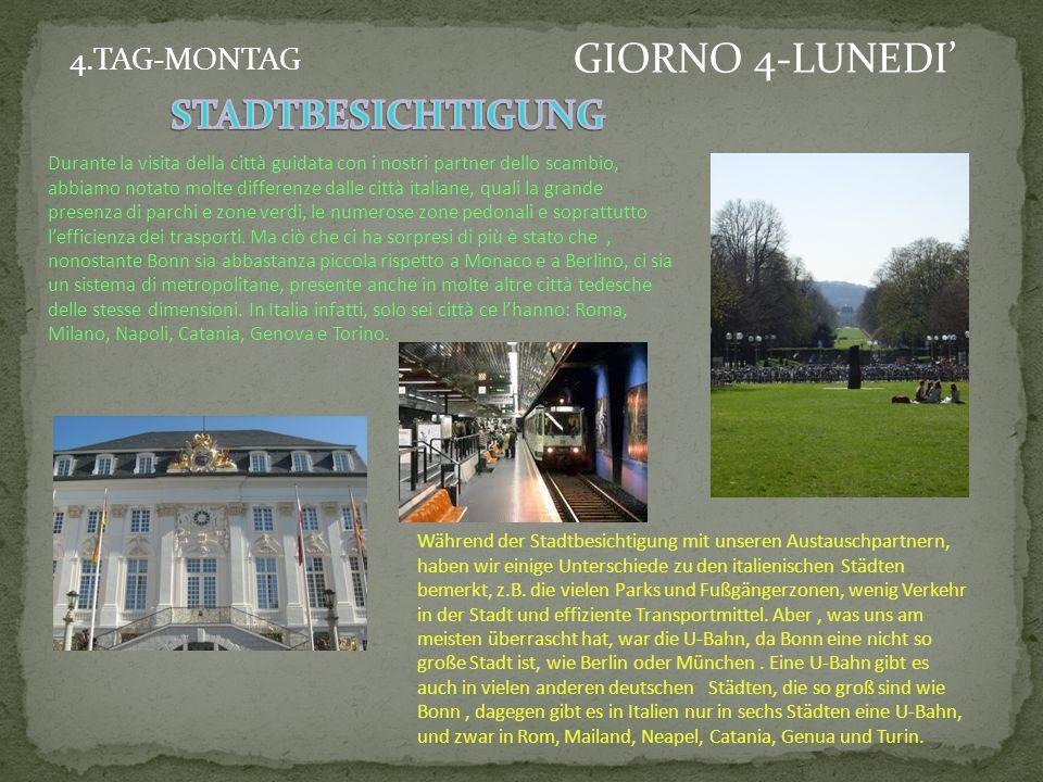 Visita di Augustusburg in Brühl Besichtigung der Augustusburg in Brühl