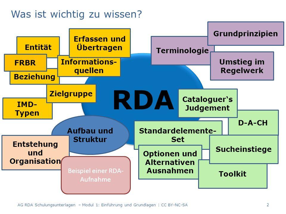 Sucheinstiege RDA spricht nicht mehr von einer Haupteintragung oder Ansetzungsform, sondern von Sucheinstiegen.