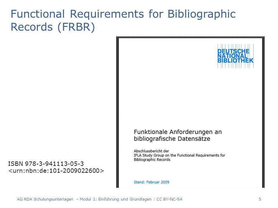 Beispiel: Vor der Zeit / Christoph Hein 186 Seiten, Christoph Hein wurde 1944 geboren, die Sprache des Textes ist Deutsch 46 AG RDA Schulungsunterlagen – Modul 3: Zusammengesetzte Beschreibung | CC BY-NC-SA
