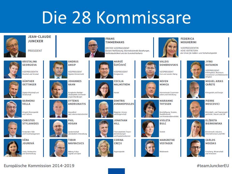20 Die 28 Kommissare