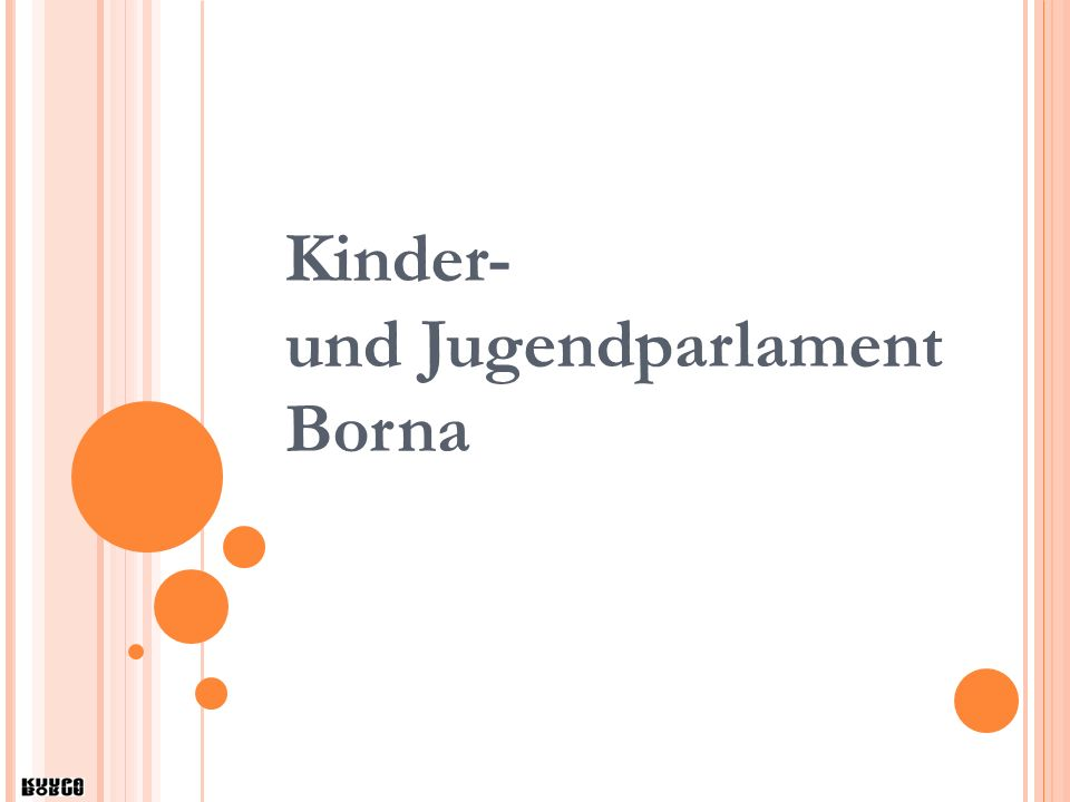 Kinder- und Jugendparlament Borna