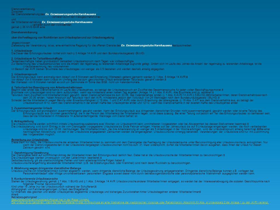 Mitarbeitervertretung Montag, 13. Februar 2012 M A V Des Ev. Entwässerungsclubs Harnhausens An die Geschäftsleitung im Hause Sehr geehrter Herr Wasser