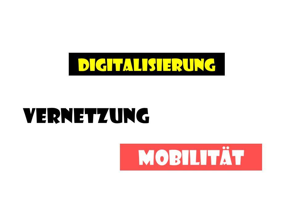 Digitalisierung Vernetzung Mobilität