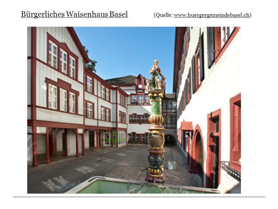 Bürgerliches Waisenhaus Basel (Quelle: www.buergergemeindebasel.ch)www.buergergemeindebasel.ch