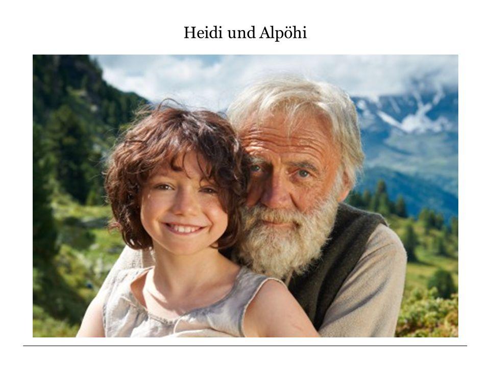 Heidi und Alpöhi