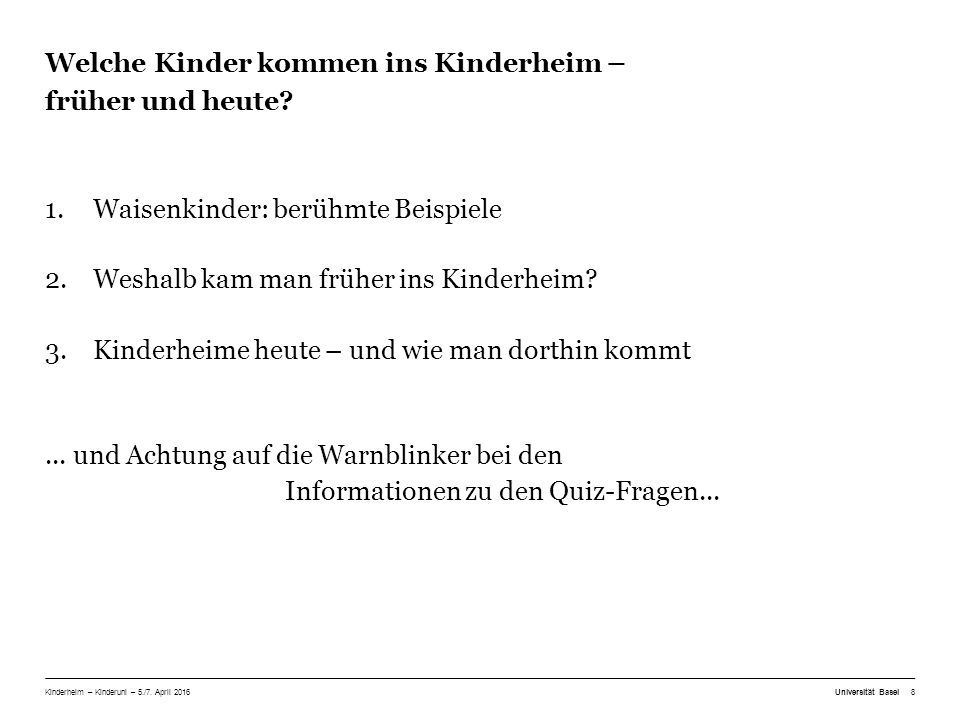 Kinderheime früher: Biografie von Christof (Quelle: www.administrativ-versorgte.ch)www.administrativ-versorgte.ch Als Kleinkind wurde ich bei einer Pflegefamilie abgegeben und nie mehr abgeholt.