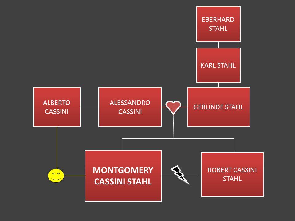 ALBERTO CASSINI ALESSANDRO CASSINI MONTGOMERY CASSINI STAHL ROBERT CASSINI STAHL GERLINDE STAHL KARL STAHL EBERHARD STAHL