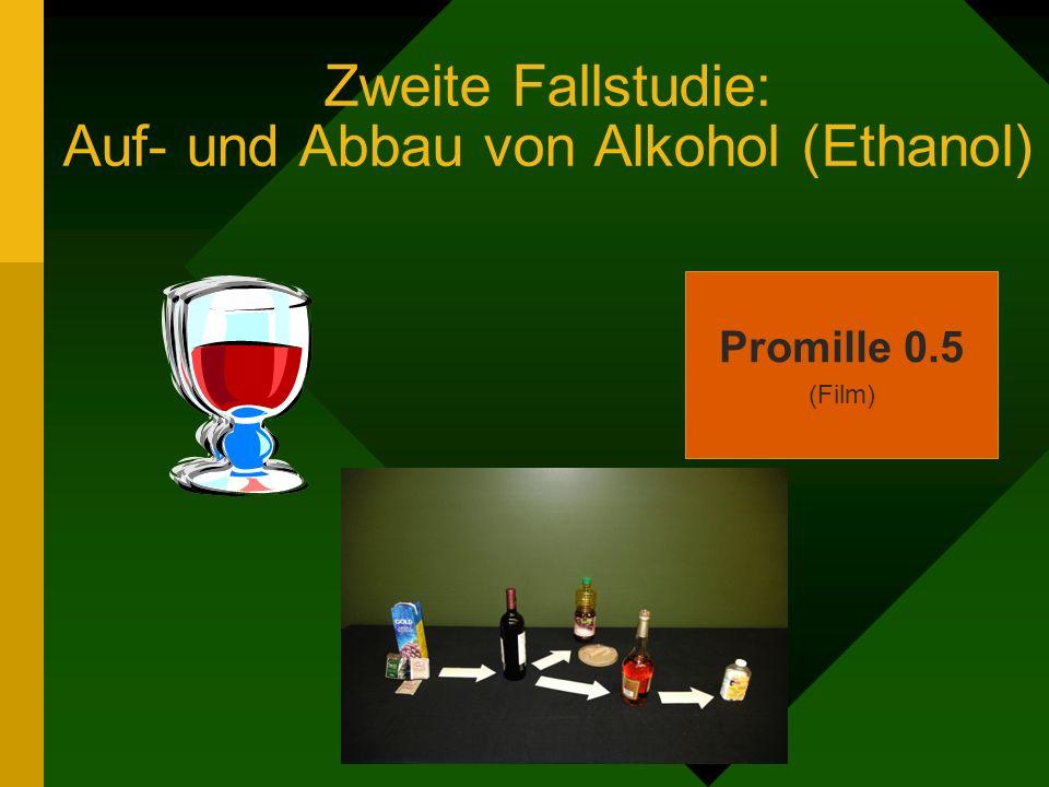 Zweite Fallstudie: Auf- und Abbau von Alkohol (Ethanol) Promille 0.5 (Film)
