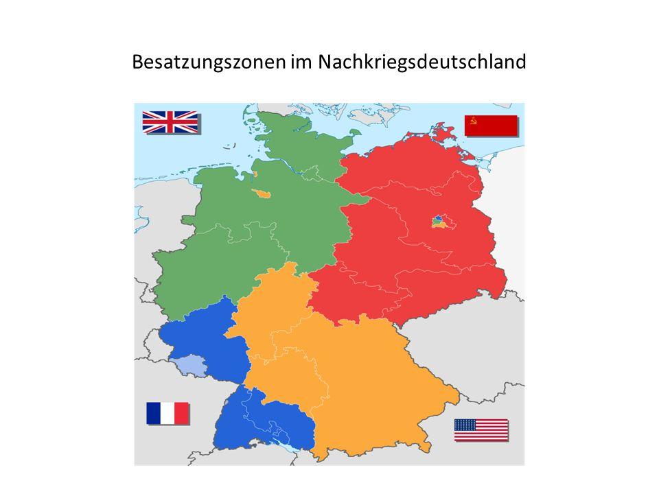 Besatzungszonen im Nachkriegsdeutschland
