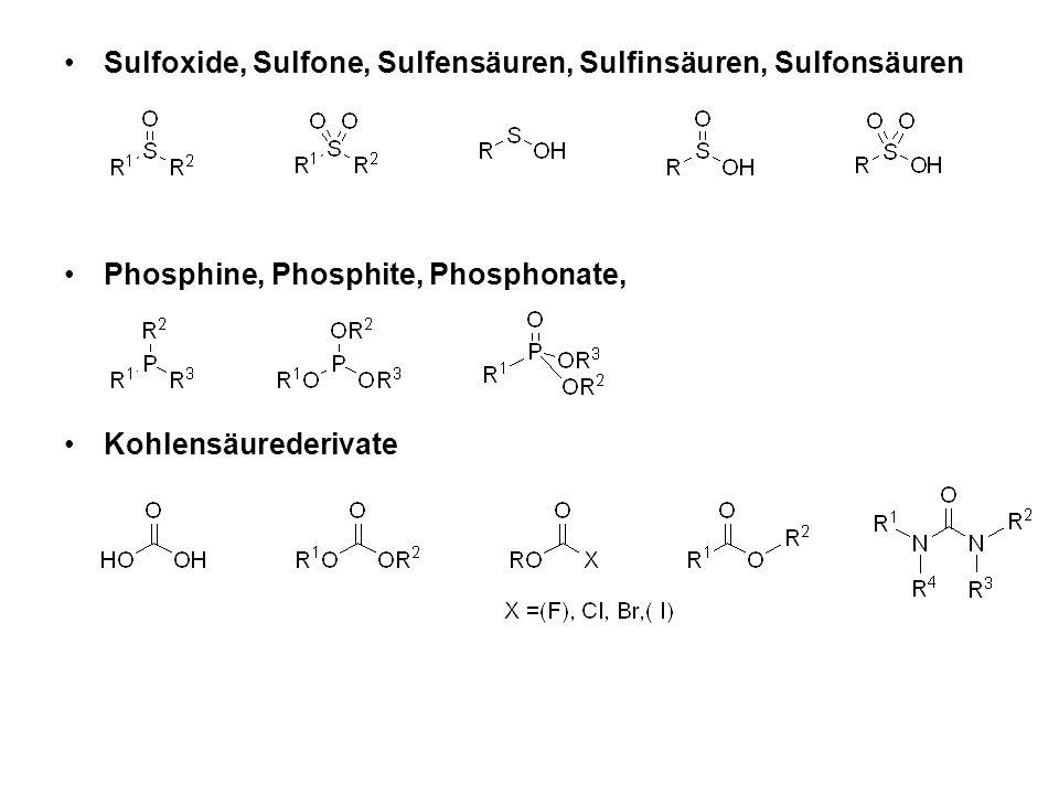 Verwandte Reaktion: Sulfoxid-Pyrolyse (bei 100-150°C) und Selenoxid-Pyrolyse ((bereits ab -40 °C!)