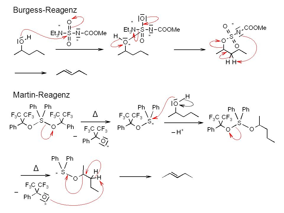 Burgess-Reagenz Martin-Reagenz Δ Δ