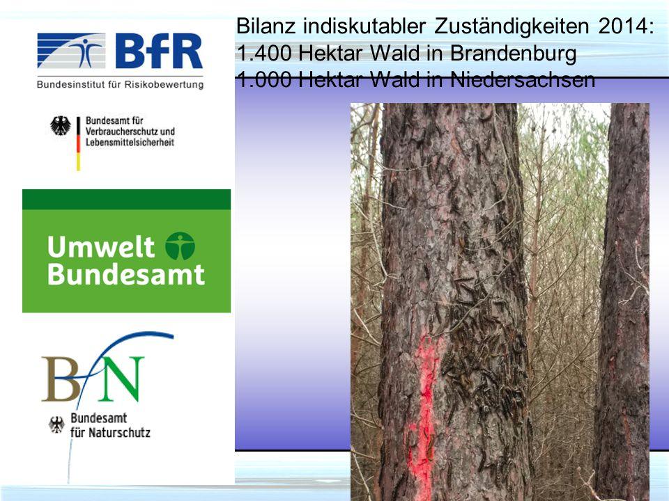 UBA: Wohl dem, der den Steuerzahler hat, der wird ohne Forstschutz satt.