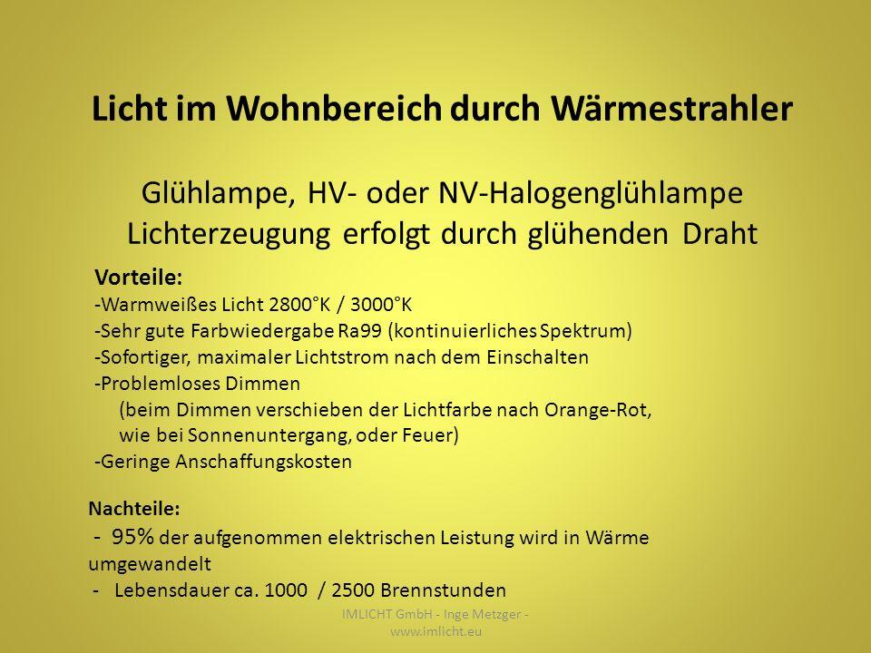 ...Beispielsweise durch Farbdynamik IMLICHT GmbH - Inge Metzger - www.imlicht.eu