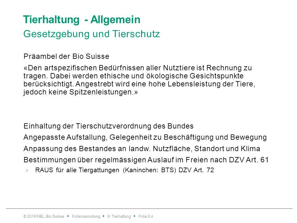 Rindvieh – Fütterung Kräuterfütterung: Tannine Inhalt: Florian Leiber, FiBL.