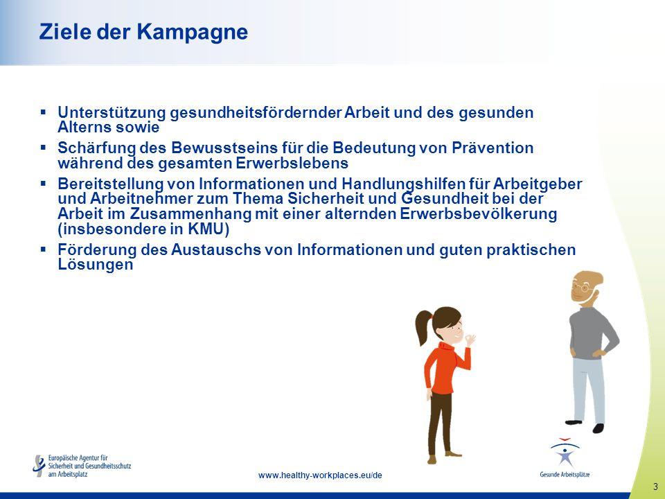 4 www.healthy-workplaces.eu/de Warum die Kampagne.