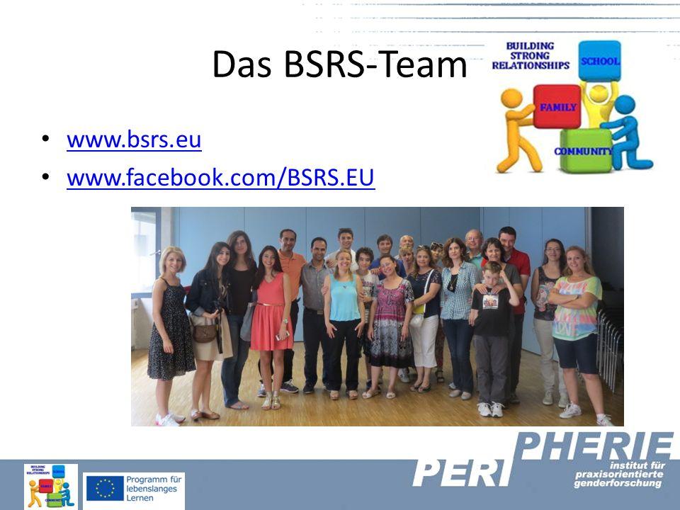 Das BSRS-Team www.bsrs.eu www.facebook.com/BSRS.EU