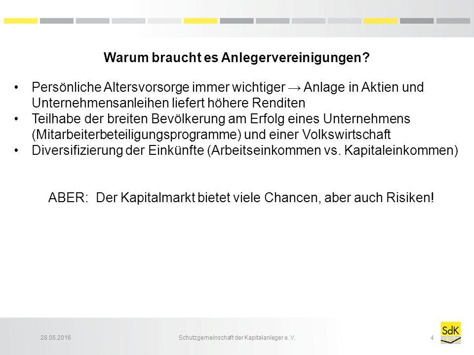 28.05.2016Schutzgemeinschaft der Kapitalanleger e. V.5
