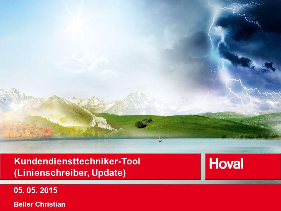 05. 05. 2015 Kundendiensttechniker-Tool (Linienschreiber, Update) Beller Christian