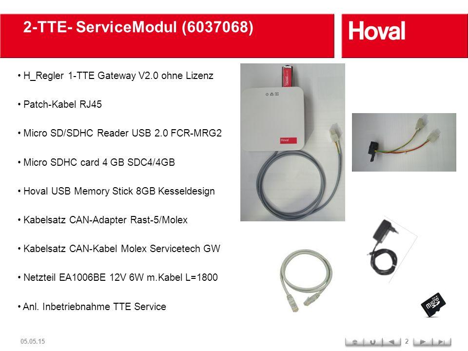 TTE- Gateway Anschlussbelegung 05.05.153 1.Anschluss 12V Netzteil (für WLAN u.