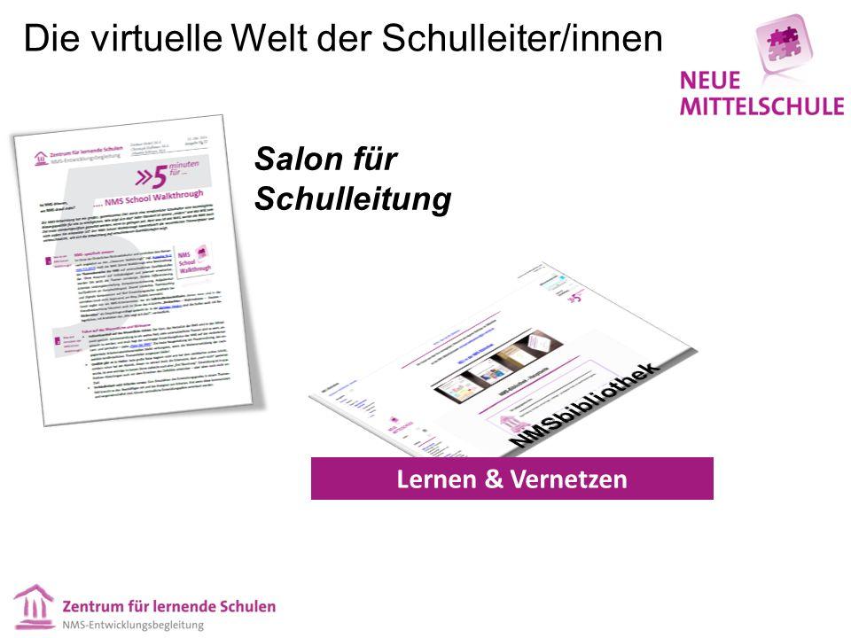 Dokumentation Lernen & Vernetzen Salon für Schulleitung