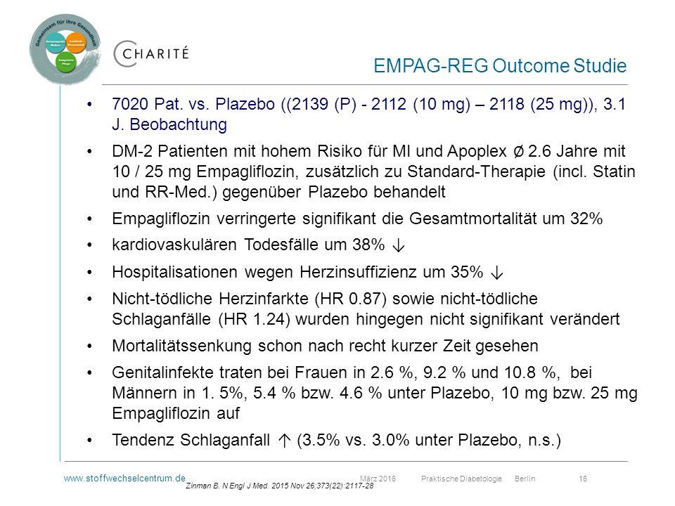 www.stoffwechselcentrum.de März 2016 Praktische Diabetologie Berlin 16 7020 Pat.