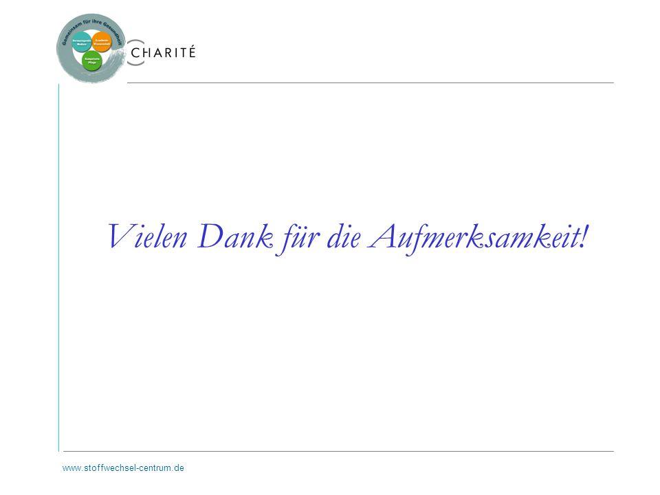 www.stoffwechsel-centrum.de Vielen Dank für die Aufmerksamkeit!