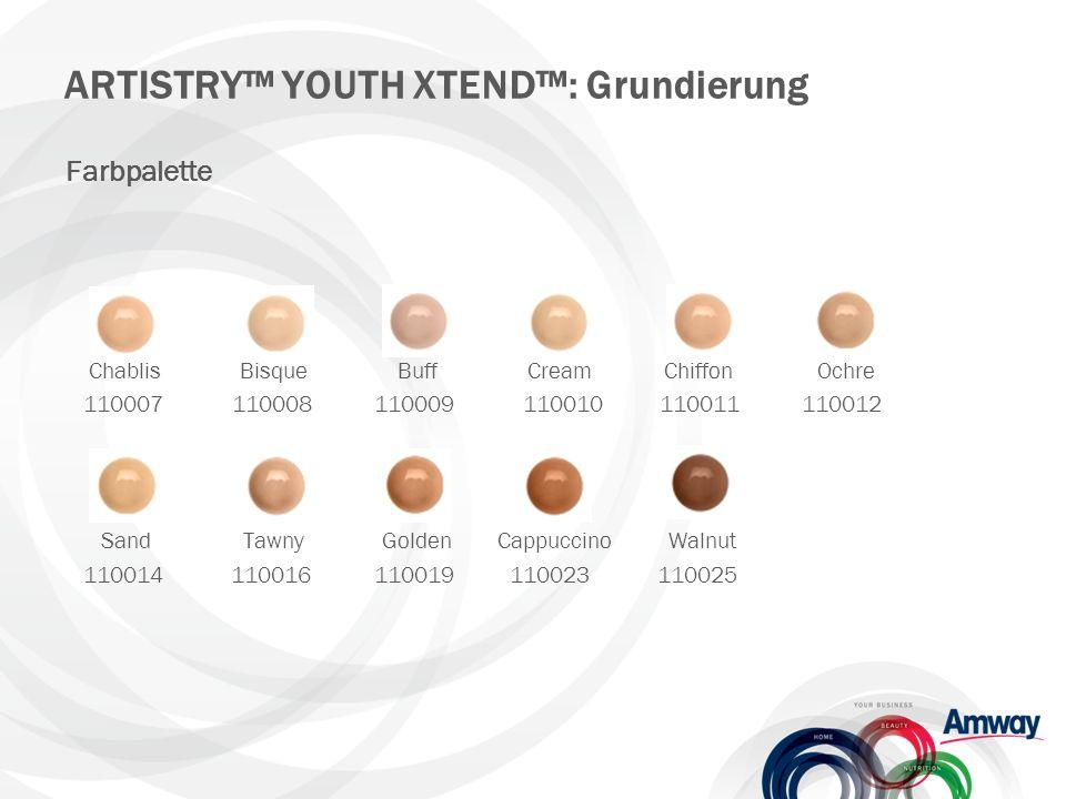 ARTISTRY™ YOUTH XTEND™: Produktproben Cremeproben – Power-System Best.-Nr.