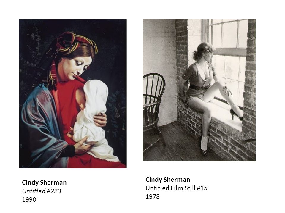 Cindy Sherman Untitled # Cindy Sherman Untitled Film Still #