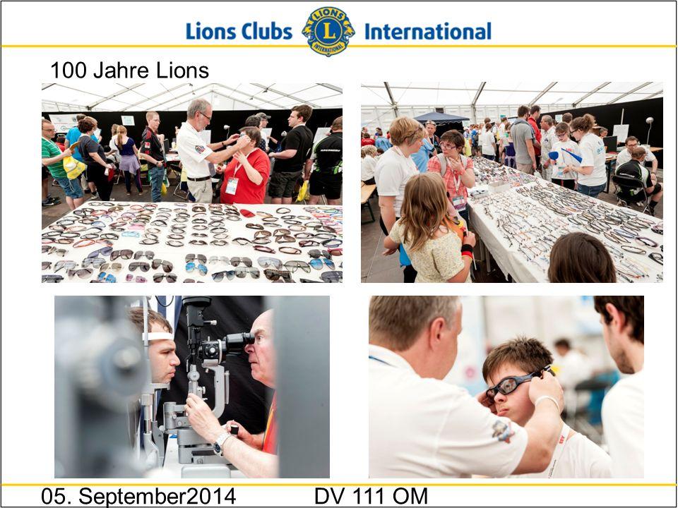 100 Jahre Lions 05. September2014DV 111 OM
